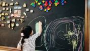 Project Chalkboard Paint Wall Paint Transforms