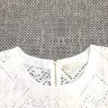88186 MESH LACE DETAIL BLOUSE【30% 40% 50%】