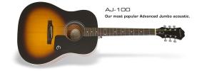 Ltd. Ed. AJ-100 Acoustic Guitar Acoustic Guitar Epiphone