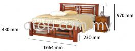Atop ATN 9570A Bed Frame 2017 SERIES Queen Size Bed Frame (5ft)