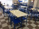 MSD37 Side Chair Mild Steel Side Chair  Food Court Furniture / Canteen Furniture