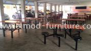 FCH540-6 Food Court Furniture / Canteen Furniture