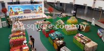 Korea Fair , Dataran Pahlawan  Roadshow Booth Booth Design