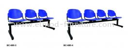 LC680-3 With Writing tablet Link Chair