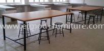 EL-LS1 Lab Stool Bar Chair/ Lab Chair Local Made