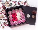 GLAM AMOUR Black Flower Box Online Flower Delivery