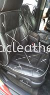 Hummer H2 Cover Spray & Replace Nappa Leather Seat Others
