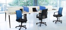 FT5714L - 94EA76 Visitor / Conference chair with arm FIT'S OFFICE CHAIR OFFICE FURNITURE