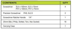 MK-LITE-6023K 23PCS MR.MARK LITE SERIES SCREWDRIVER & BIT SET Screwdrivers & Bits  Tools Collection