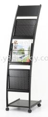 16210-JH-1202 Magazine Rack Brochure Stand