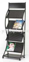 16303-JH-1328 Magazine Rack Brochure Stand