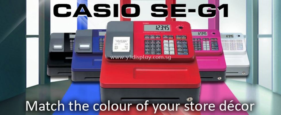 60202-Casio SE-G1 Cash Register