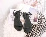 Drancy Black Sandals