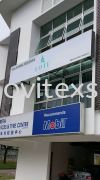 signboard with LED lighting Click detail Signboard / Lighting Signboard