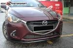 madza 2 2014 sedan OEM bodykit  Mazda 2 Sedan 2014 Mazda