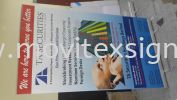 roll up banner 46 x 7ft (click for more detail) Banner and Bunting / Roll Up Banner / Pop Up System / Mini Flat