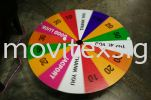 game spinner board For canval funfair or promotion games for car/birthday party lucky draw (click for more detail) Banner and Bunting / Roll Up Banner / Pop Up System / Mini Flat