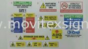 factory safety direction sign (click for more detail) Factory sign
