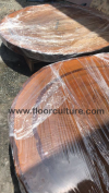 Round Table Top Table Slab - Solid Wood