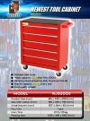 5 Drawer Tool Cart Only Roller Cabinet Tool Chest Tools Trolley ID31005 Cabinet Tool Cart Tool Storage & Tool Boxes