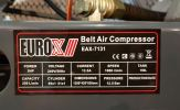 Eurox EAX-7131 Air Compressor 3hp 150litre 12bar ID30971  Europower & Eurox & Robintec  Air Compressor