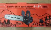 "H-Duty 2 in 1 1000w Angle Grinder With 11.5""Chain Saw ID30986 Chainsaw Agricultural"