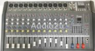 Denn Power Mixer DJX-12ARB Denn Power Mixer Pro Sound PA System