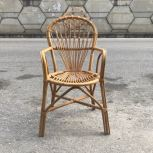 RATTAN DINING CHAIR VINTAGE