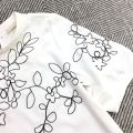 30216 EMBROIDERED PUFF SLEEVE BLOUSE