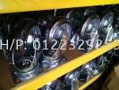 Nansin STC Rubber Brake Rubber - Nansin Medium Duty (200kg-500kg) Castor