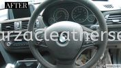BMW F30 DASHBOARD REPLACE ALCANTARA LEATHER Car Dash Board