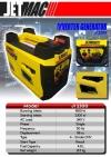 Jetmac JI2000/JI2300 Silent Inverter Generator 2.0kW ID339393 Europower, Jetmac, Tough  Generator (Petrol & Diesel)
