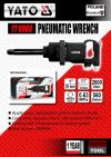 """Poland YT-0960 1"""" PINLESS HAMMER IMPACT AIR WRENCH ID669476 Air Impact Wrench / Air Drill / Air Screwdriver / Air Ratchet Wrench  Air / Pneumatic Tools"""