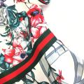 22029 PRINTED FLORAL A-LINE DRESS【Online Exclusive Promo 41% OFF】