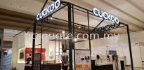 Cuckoo , Penang  Exhibition Booth Booth Design