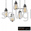 JL-MJ19-BK Loft Design PENDANT LIGHT