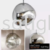 GREY GLASS PENDANT LIGHT Designer Pendant Light PENDANT LIGHT