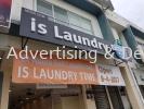 is laundry time Front lit LED signage LED 3D Signage