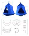 K2530 Gladswing - Birdy Tent TT Sensory Integration Equipment Sport