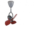 "NSB Fan Vento FINO 2 AC Motor 16"" Ceiling Fan"