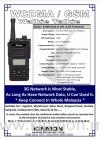 K760P 3G Network Walkie Talkie Walkie Talkie Road Safety