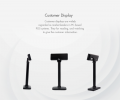 MC8220 Customer Display Pole Monitor & Terminal POS Hardware