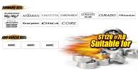High Speed Ceramic Ball Bearing - ST120 #7 LD - ABEC 7 ball bearing miniture HIGH SPEED BEARING SENSES