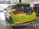 Whole new Toyota Yaris undergoing installation of STE COATING by STE Auto Detailing team . Toyota Completed Job STE Coating