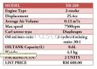 ENGINE BLOWER C/W ASSY EB260 BLOWER EYUGA