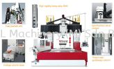 (FOURSTAR) FDW Series FOURSTAR Fixed Double Columns Machining Center ; Moving-Crossrail (W-travel) Machining Center
