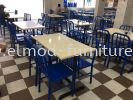 Solid Colour Table & Seat Colour Chart  Food Court Furniture / Canteen Furniture