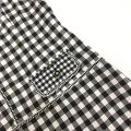 19067 PLUS SIZE CONTRAST PLAID DRESS 【ONLINE EXCLUSIVE 35%】