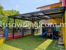 Industrial Roofing @Tadika Melody, Bandar Kinrara Puchong, Selangor  Industrial Awning