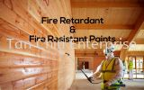 Fire Retardant Coat for Wood Class 0 & 1 Fire Rated Paint / Coat